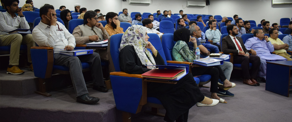 Inauguration Ceremony of Cycle 2 of IBA Weekend Certificate in Entrepreneurship at GIFT University, Gujranwala