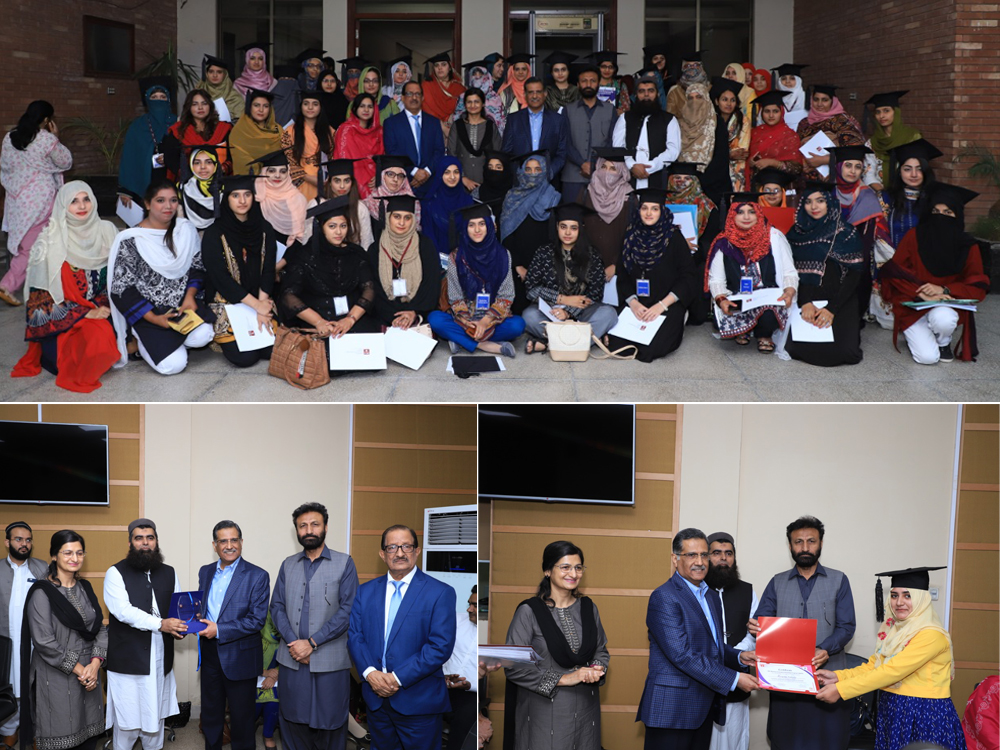 Certificate Distribution Ceremony of IBA Women Entrepreneurship Program (WEP) Cycle 2 at Faisalabad