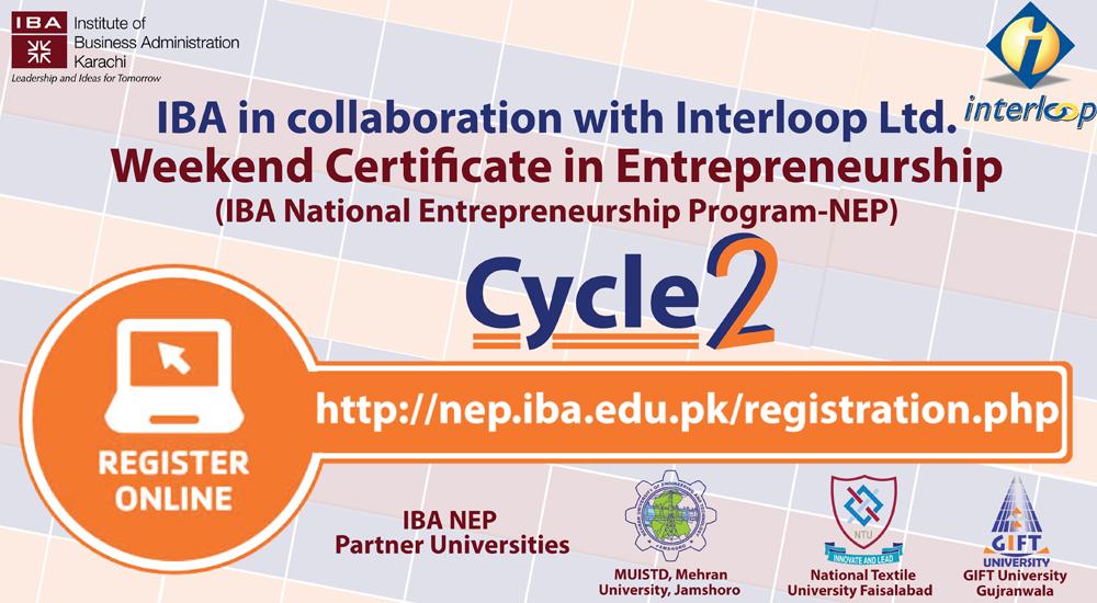 Iba National Entrepreneurship Program Nep